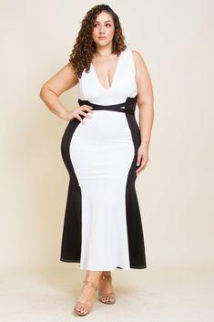 745b39bbd47 Plus Size Crossed Spaghetti Maxi Dress  plussizedresses  seyplussizewomen  Big Girl Fashion