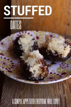 You only need one or two of these delicious, stuffed dates, to get your sweet fix!