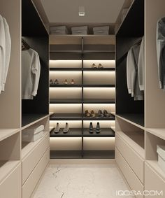 modern apartment in kyiv on behance - Closet Bedroom Design