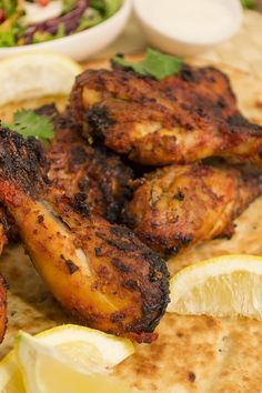 Grilled Tandoori Chicken Legs