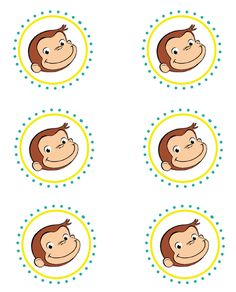 http://www.maxandlula.com/2012/08/curious-george-birthday-party.html