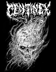 Death Metal Illustrations by Mark Riddick