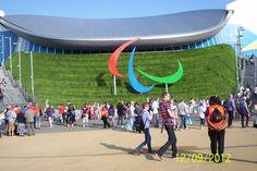 Aquatics Centre. Sept 3, 2012