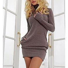 LightInTheBox - Παγκόσμιες Online Αγορές για Φορέματα, Σπίτι & Κήπος, Ηλεκτρονικά Προϊόντα, Ένδυση Γάμου Knee Length Dresses, Dresses With Sleeves, Casual Dresses, Short Dresses, Women's Dresses, Dresses Online, Dress Outfits, Purple Mini Dresses, Short Mini Dress