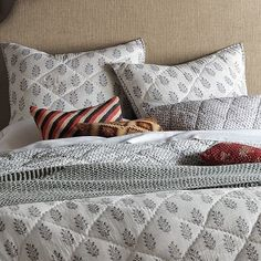 Globally Inspired Bedrooms: patterns