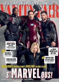 Chris Hemsworth, Spideypool, Chris Pratt, Chris Evans, Scarlett Johansson, Vanity Fair, Thor, Iron Man, Fantastic Four