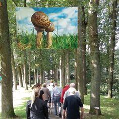 #HAAKSBERGEN #BenLensink Dagelijks fietsen & wandelen mensen onze Fotobiënnale Haaksbergen 6 km Fotoexpo is t/m oktober
