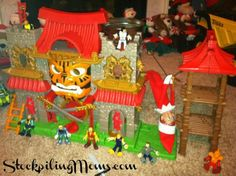 The Elf on the Shelf® Day 5  http://www.stockpilingmoms.com/2012/12/the-elf-on-the-shelf-day-5/