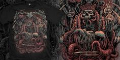 """""""The Offering"""" t-shirt design by olinokus"""
