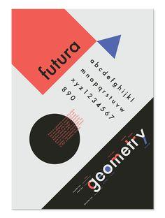 Typographic Anatomy Poster on Behance