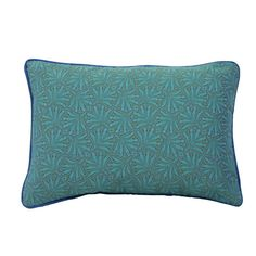 I pinned this Leaves Lumbar Pillow in Turquoise from the Signature Pillows event at Joss and Main!