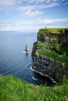 Cliffs of Moher. i hear it's worth the insane bus drive from dublin!