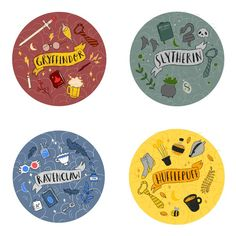 Harry Potter New house badges coming soon to my etsy! Harry Potter Fan Art, Monopoly Harry Potter, Stickers Harry Potter, Harry Potter Drawings, Harry Potter Houses, Harry Potter Pictures, Harry Potter Universal, Harry Potter Fandom, Harry Potter World