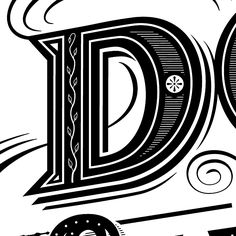 Patrick Knowles Design hand lettering