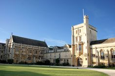 Mansfield College, University of Oxford. Founded 1838 as Spring Hill College, Birmingham, a college for Nonconformist students. In late 19th century, although students from all religious denominations were legally entitled to attend universities, they were forbidden by statute from taking degrees unless they conformed to the Church of England. Named after George and Elizabeth Mansfield, it was established as Mansfield College 1886. It's Sister College at Cambridge is Homerton College.