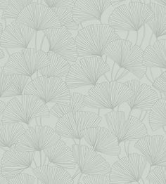 Ginkgo - 65 wallpaper, from the Graceful Stories collection by Boras Tapeter Grey And Green Wallpaper, Palm Leaf Wallpaper, Beige Wallpaper, Wallpaper Uk, Botanical Wallpaper, Wallpaper Online, Adhesive Wallpaper, Wallpaper Samples, Wallpaper Companies