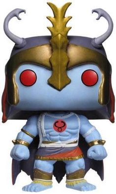 """ThunderCats, Ho! Main antagonist of the ThunderCats, and the """"ever-living source of evil,"""" Mumm-Ra makes his way to the Pop! Vinyl line. Based on the classic ThunderCats animated series, Mumm-Ra stands about 3 3/4-inches tall and comes in a window display box. #funko #popvinyl #actionfigure #collectible #MummRa"""