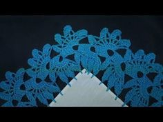 How To Crochet- Arcade Stitch Tutorial Crochet Curtains, Crochet Doilies, Filet Crochet, Crochet Edging Patterns, Crochet Designs, Embroidery Fashion, Chrochet, Crochet Earrings, Free Pattern