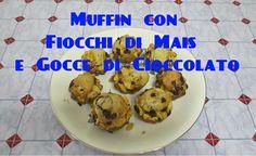 Muffin con Fiocchi di Mais e Gocce di Cioccolato Bimby TM5