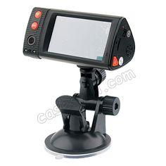 3.0 LCD Dual Camera Vehicle Blackbox Car HD DVR GPS G-Sensor TF Card US$89.99