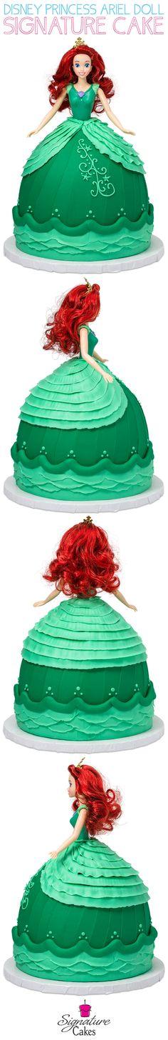 Learn how to make DecoPac's Disney Princess Ariel Doll Signature Cake