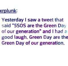 GREEN DAY STILL MAKES MUSIC AND STILL IS IN BUSINESS LOOK IT UP!!!