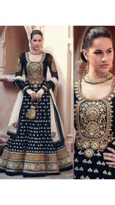 Anarkali Salwar Kameez Pakistani Suit in Bollywood Style