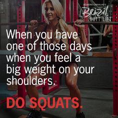 Do Squats. #motivation #quote #fitspo