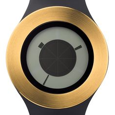 Sunstich designed by Michael Young - black/gold Industrial Chic, Industrial Design, Dezeen Watch Store, Time Stood Still, Futuristic Design, Young Black, Design Thinking, Cool Watches, Service Design