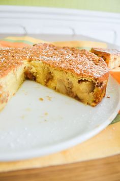 Gâteau magique aux pommes caramélisées   Amandise   Les gourmandises d'Amandine