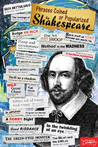 Phrases Coined or Popularized by Shakespeare Poster, Classroom Decor: Teacher's Discovery British Literature, English Literature, Gcse English, Education English, Teaching English, Primary Teaching, Ernst Hemingway, Maternelle Grande Section, Mums The Word