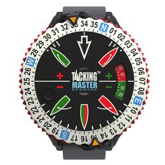 Tacking Master - a wrist device that helps you visualize wind shifts and tacking angles on the race course. Brilliant!