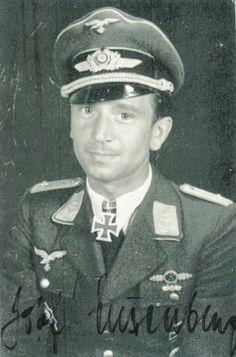 ✠ Josef Luxenburger - RK Oberleutnant Beobachter i. Luftwaffe, Crosses, Knights, Ww2, World War, Pilot, Captain Hat, Battle, Guns