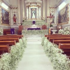 Best Wedding Church Aisle Floral Arrangements Ideas Wedding Cake: It's Importance To Church Wedding Flowers, Church Wedding Ceremony, Wedding Bouquets, Wedding Bridesmaids, Wedding Table, Wedding Aisle Decorations, Wedding Themes, Wedding Colors, Church Decorations