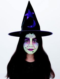 Wicked witch face paint - goodtoknow