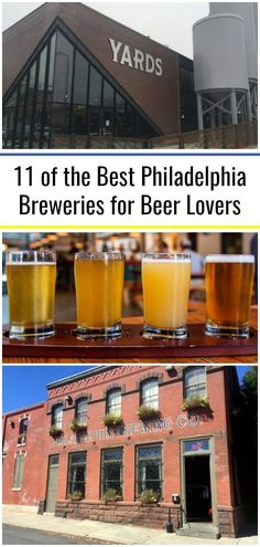 There are many great Philadelphia breweries worth trying on your next visit to the city. I've compiled some of my favorite breweries in Philly to help you plan your adventures in the City of Brotherly Love. Virtual Travel, Travel Vlog, Travel Tours, Visit Philadelphia, Day Trips In Pa, Beer Week, Vacations In The Us, Best Beer