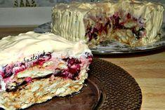 Brza keks torta sa jogurtom i višnjama