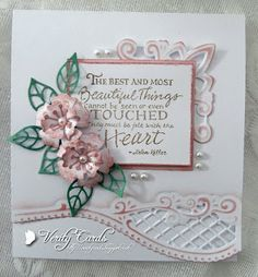 Plain and Simple, that the challenge this month over at Lothian Crafts ! Pop on over and join in the fun ! For my card I . Spellbinders Cards, Stampin Up Cards, Paper Cards, Diy Cards, Greeting Words, Christian Cards, Marianne Design, Get Well Cards, Heartfelt Creations