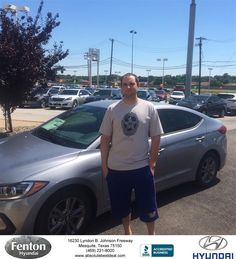 ON JUNE 07.2016 AT ABOUT 2:00PM I ARRIVED AT FENTON HYUNDAI DEALERSHIP FOR MY SCHEDULED APPOINTMENT WITH GERALD MICHALAK.AFTER THAT MR. MICHALAK ACTED VERY PROFESSIONAL AND ANSWERED ALL MY QUESTIONS THAT I HAD ASKED, AND DID NOT MAKE ME FEEL THAT I WAS JUST ANOTHER SALE TO ADD, WHICH MADE ME FEEL VERY GOOD, AND FENTON HYUNDAI SHOULD BE PROUD TO HAVE A SALESPERSON LIKE MR MICHALAK ON THEIR STAFF. -James Keteltas,  Tuesday 6/7/2016…