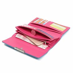 Women Hasp Long Wallets Girls Candy Color 15 Card Holder Purse Coin Bags  Worldwide delivery. Original best quality product for 70% of it's real price. Hurry up, buying it is extra profitable, because we have good production sources. 1 day products dispatch from warehouse. Fast &...