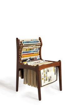 New Hotel, Newspaper Chair