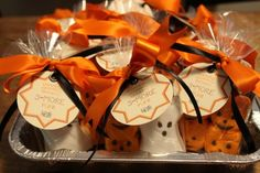 Pumpkin Party S'more Favors