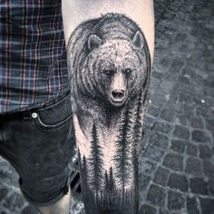 Tattoo I want Funny Tattoos, Cool Tattoos, Tatoos, Tattoo Fails, I Tattoo, Sweet Tattoos, Tattoos For Guys, Alaska Tattoo, Grizzly Bear Tattoos