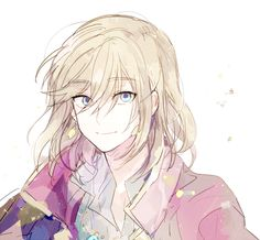 Howl from Howl's moving castle!!! Not sure who drew this (please tell me if you know) but it is sooooo cute!