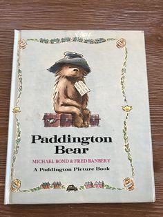 Paddington Bear: A Paddington Picture Book (1973) by BourgettesBookshelf on Etsy
