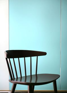 Danish chair and industrial colors
