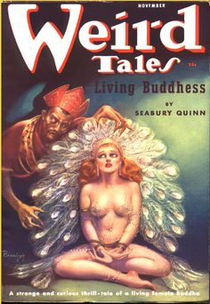 Margaret Brundage broke two taboos at the same time with her iconic covers for Weird Tales magazine in the 1930s. She was a woman working in the male-dominated world of fantasy art, and her covers were racy and titillating, even for the pulp era.