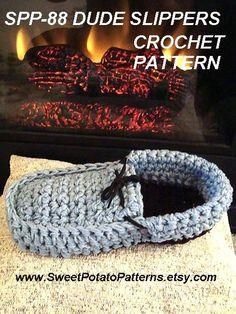 Instant Download PDF Crochet Pattern Dude by sweetpotatopatterns