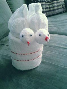 Deze schattige lovebirds zijn leuk als kadootje voor een huwelijk