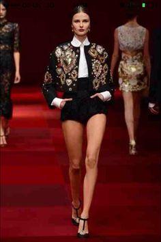 Dolce & Gabbana Milan Spring 2015